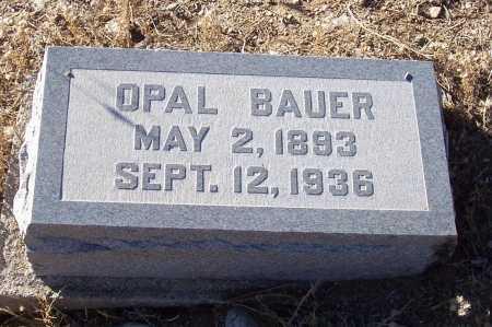 BAUER, OPAL - Gila County, Arizona   OPAL BAUER - Arizona Gravestone Photos