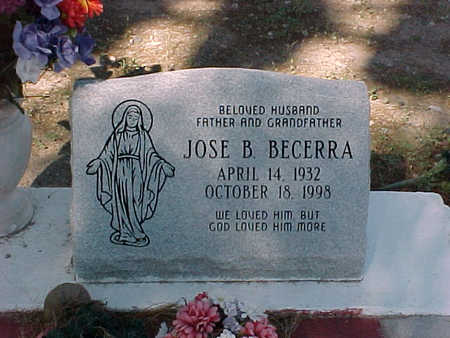 BECERRA, JOSE  B. - Gila County, Arizona | JOSE  B. BECERRA - Arizona Gravestone Photos