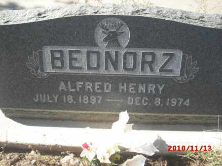 BEDNORZ, ALFRED  HENRY - Gila County, Arizona   ALFRED  HENRY BEDNORZ - Arizona Gravestone Photos