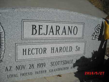BEJARANO, HECTOR HAROLD,  SR - Gila County, Arizona | HECTOR HAROLD,  SR BEJARANO - Arizona Gravestone Photos