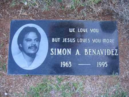 BENAVIDEZ, SIMON - Gila County, Arizona   SIMON BENAVIDEZ - Arizona Gravestone Photos