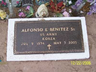 BENITEZ, ALFONSO E. - Gila County, Arizona | ALFONSO E. BENITEZ - Arizona Gravestone Photos