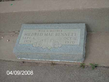 BENNETT, MILDRED MAE - Gila County, Arizona | MILDRED MAE BENNETT - Arizona Gravestone Photos