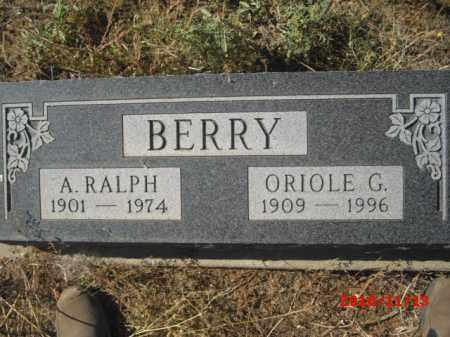 BERRY, ORIOLE  G. - Gila County, Arizona | ORIOLE  G. BERRY - Arizona Gravestone Photos
