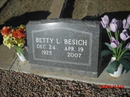 BESICH, BETTY L. - Gila County, Arizona | BETTY L. BESICH - Arizona Gravestone Photos