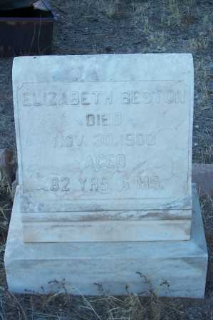 BESTON, ELIZABETH - Gila County, Arizona | ELIZABETH BESTON - Arizona Gravestone Photos