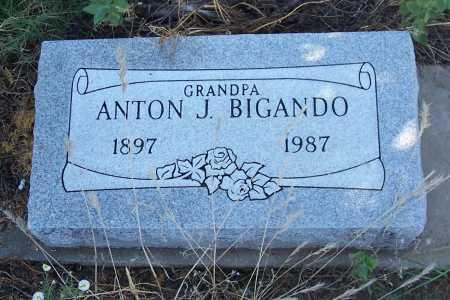BIGANDO, ANTON J. - Gila County, Arizona | ANTON J. BIGANDO - Arizona Gravestone Photos