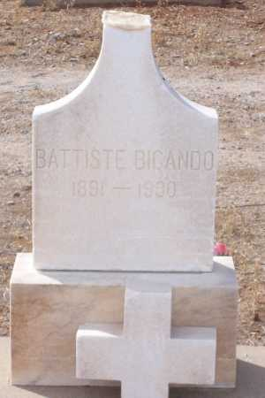 BIGANDO, BATTISTE - Gila County, Arizona | BATTISTE BIGANDO - Arizona Gravestone Photos