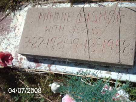 BISHOP, MINNIE - Gila County, Arizona | MINNIE BISHOP - Arizona Gravestone Photos