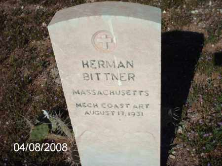BITTNER, HERMAN - Gila County, Arizona | HERMAN BITTNER - Arizona Gravestone Photos