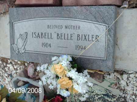 "BIXLER, ISABELL ""BELLE"" - Gila County, Arizona | ISABELL ""BELLE"" BIXLER - Arizona Gravestone Photos"