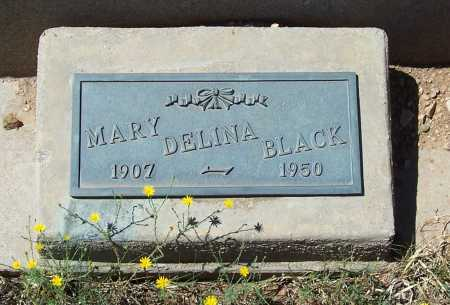 BLACK, MARY DELINA - Gila County, Arizona | MARY DELINA BLACK - Arizona Gravestone Photos