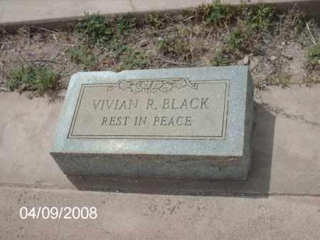 BLACK, VIVIAN R. - Gila County, Arizona   VIVIAN R. BLACK - Arizona Gravestone Photos