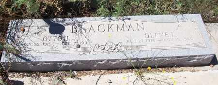BLACKMAN, OTTO L. - Gila County, Arizona | OTTO L. BLACKMAN - Arizona Gravestone Photos