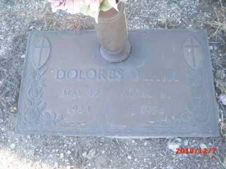 BLAIR, DOLORES - Gila County, Arizona | DOLORES BLAIR - Arizona Gravestone Photos