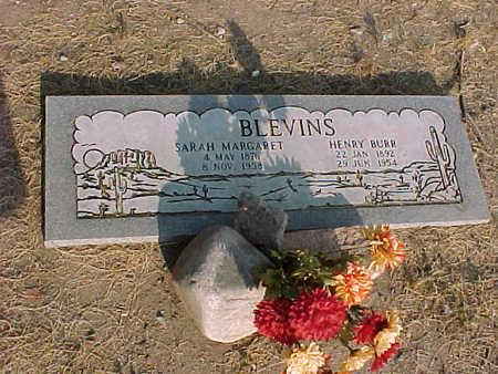 BLEVINS, SARAH MARGARET - Gila County, Arizona | SARAH MARGARET BLEVINS - Arizona Gravestone Photos