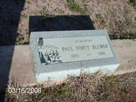 BLUMER, PAUL - Gila County, Arizona | PAUL BLUMER - Arizona Gravestone Photos