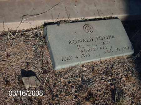 BOEHM, RONALD - Gila County, Arizona   RONALD BOEHM - Arizona Gravestone Photos