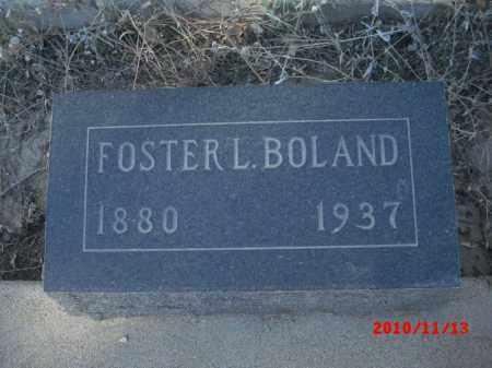 BOLAND, FOSTER - Gila County, Arizona | FOSTER BOLAND - Arizona Gravestone Photos