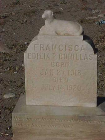 BONILLAS, FRANCISCA EDILIA - Gila County, Arizona | FRANCISCA EDILIA BONILLAS - Arizona Gravestone Photos