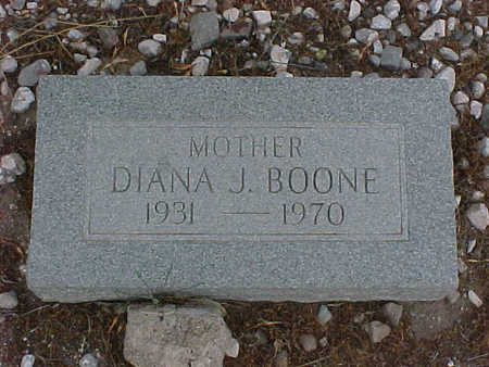 BOONE, DIANA  J. - Gila County, Arizona   DIANA  J. BOONE - Arizona Gravestone Photos