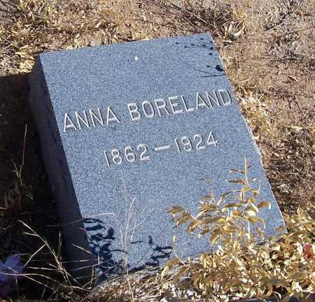 BORELAND, ANNA - Gila County, Arizona | ANNA BORELAND - Arizona Gravestone Photos
