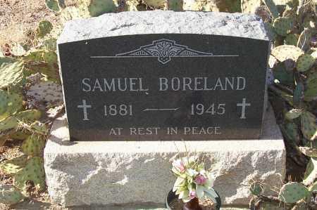 BORELAND, SAMUEL - Gila County, Arizona | SAMUEL BORELAND - Arizona Gravestone Photos