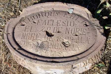 BORQUS, M. E. HIJO - Gila County, Arizona | M. E. HIJO BORQUS - Arizona Gravestone Photos