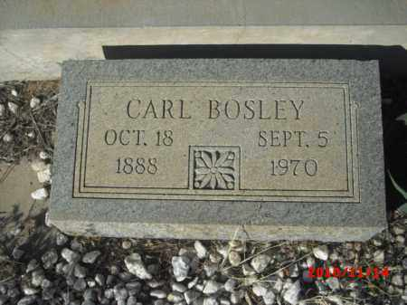BOSLEY, CARL - Gila County, Arizona | CARL BOSLEY - Arizona Gravestone Photos