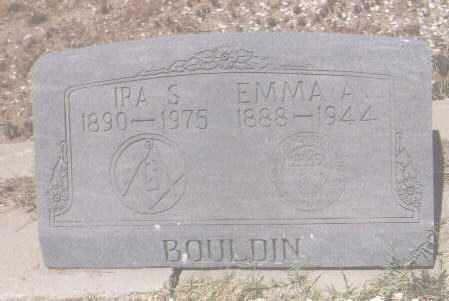 BOULDIN, IRA S. - Gila County, Arizona | IRA S. BOULDIN - Arizona Gravestone Photos