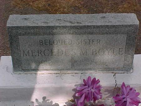 BOYLE, MERCEDES M. - Gila County, Arizona | MERCEDES M. BOYLE - Arizona Gravestone Photos