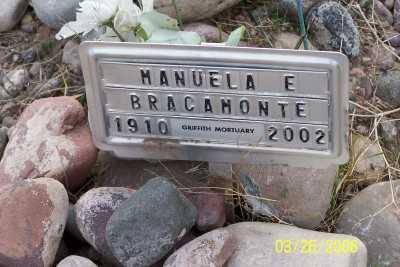 BRACAMONTE, MANUELA E. - Gila County, Arizona | MANUELA E. BRACAMONTE - Arizona Gravestone Photos