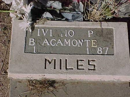 BRACAMONTE, VIVIANO  P. - Gila County, Arizona | VIVIANO  P. BRACAMONTE - Arizona Gravestone Photos