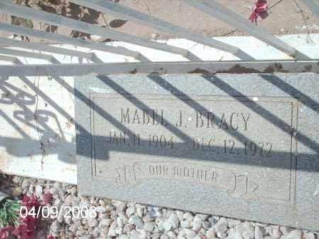 BRACY, MABEL J. - Gila County, Arizona | MABEL J. BRACY - Arizona Gravestone Photos