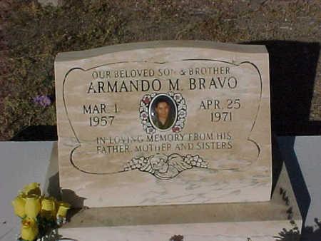 BRAVO, ARMANDO  M. - Gila County, Arizona | ARMANDO  M. BRAVO - Arizona Gravestone Photos