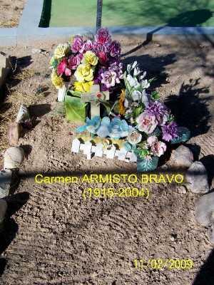 BRAVO, CARMEN - Gila County, Arizona | CARMEN BRAVO - Arizona Gravestone Photos
