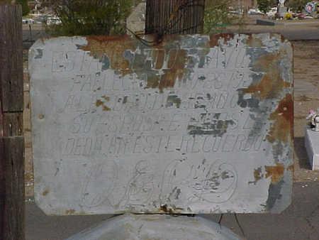 BRAVO, ESTANSLADO - Gila County, Arizona   ESTANSLADO BRAVO - Arizona Gravestone Photos