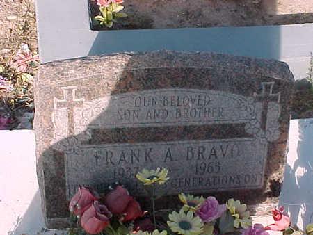 BRAVO, FRANK A. - Gila County, Arizona | FRANK A. BRAVO - Arizona Gravestone Photos