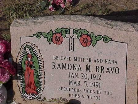 BRAVO, RAMONA  M. - Gila County, Arizona   RAMONA  M. BRAVO - Arizona Gravestone Photos