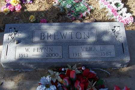 BREWTON, W. FLYNN - Gila County, Arizona | W. FLYNN BREWTON - Arizona Gravestone Photos