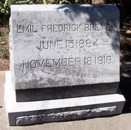 BREYER, EMIL FREDRICK - Gila County, Arizona   EMIL FREDRICK BREYER - Arizona Gravestone Photos