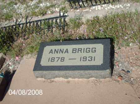 BRIGG, ANNA - Gila County, Arizona | ANNA BRIGG - Arizona Gravestone Photos