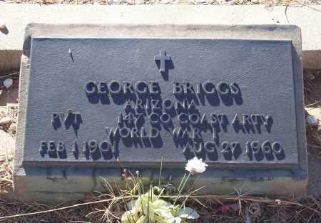 BRIGGS, GEORGE - Gila County, Arizona   GEORGE BRIGGS - Arizona Gravestone Photos