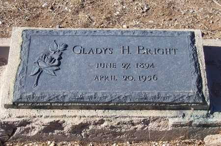 BRIGHT, GLADYS H. - Gila County, Arizona | GLADYS H. BRIGHT - Arizona Gravestone Photos