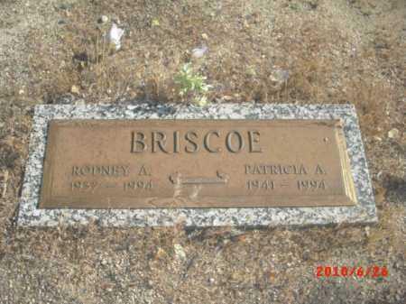 BRISCOE, RODNEY A. - Gila County, Arizona   RODNEY A. BRISCOE - Arizona Gravestone Photos