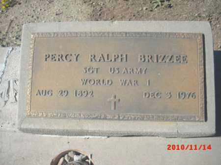 BRIZZEE, PERCY RALPH - Gila County, Arizona | PERCY RALPH BRIZZEE - Arizona Gravestone Photos