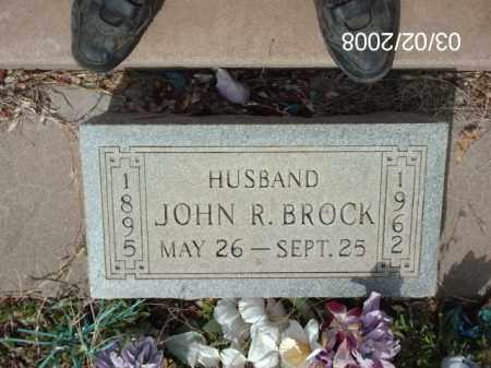 BROCK, JOHN - Gila County, Arizona | JOHN BROCK - Arizona Gravestone Photos