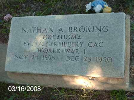 BROKING, NATHAN - Gila County, Arizona | NATHAN BROKING - Arizona Gravestone Photos