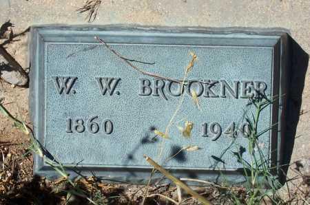 BROOKNER, W.W. - Gila County, Arizona   W.W. BROOKNER - Arizona Gravestone Photos