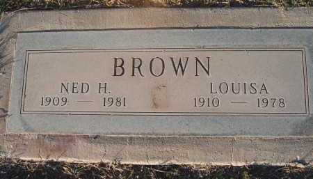 BROWN, NED - Gila County, Arizona | NED BROWN - Arizona Gravestone Photos